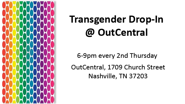 Transgender Drop-In @ OutCentral – December 12th